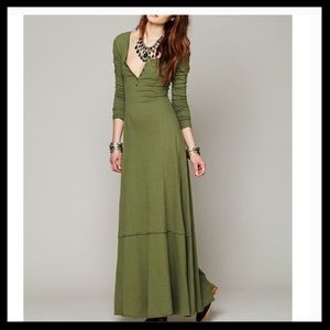 Free People Beach Miles Of Henley Maxi Dress
